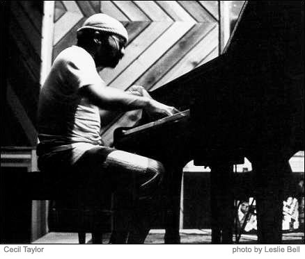 cecil taylor photo by leslie bell